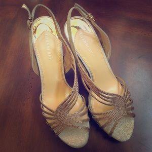 """Gianni Bini """"January"""" platform sandal 11M"""